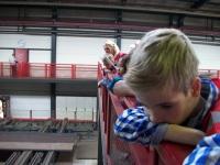 Foto bij Bezoek Voortman Staalbouw