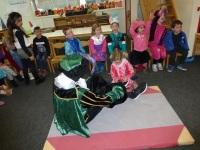 Foto bij Sint ook in onze klas...