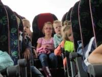 Foto bij schoolreisje groep 1 en 2