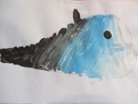 Foto bij De blauwe vinvis