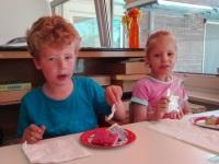 Foto bij Taart eten