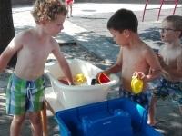 Foto bij waterfeest