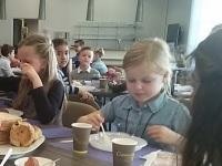 Foto bij Ontbijten bij de burgemeester