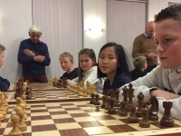 Foto bij Schoolschaaktoernooi
