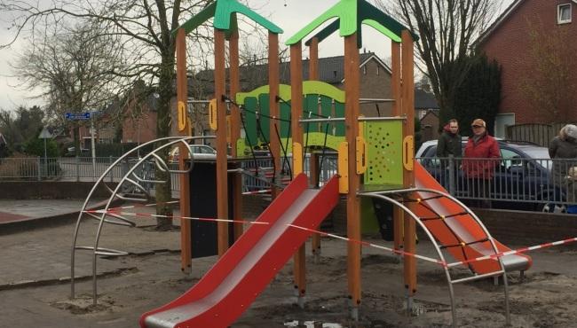 Foto bij Nieuw speeltoestel